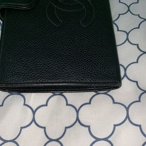 CHANEL Bags - Chanel Black Caviar Leather Bifold Wallet